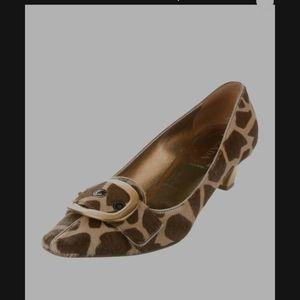 Prada Shoes - Host Pick°PRADA calf hair w/gold heels